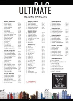 L'ANZA ULTIMATE HEALING HAIRCARE COLLECTION