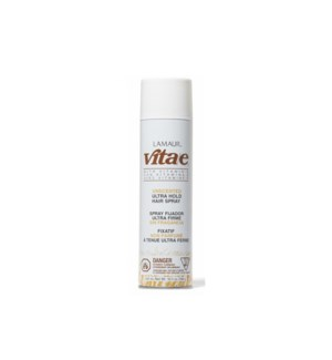 LAMAUR VITA/E ULTRA HOLD  UNSCENTED 414ML