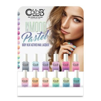 COLOR CLUB MOOD OMBRE NAIL POLISH 12/PC DISPLAY