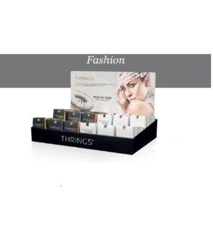 THRINGS - HAIR RINGS - FASHION - 48PC DISPLAY