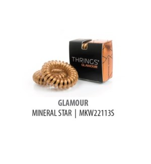 DISC//THRINGS - HAIR RINGS - GLAMOUR - MINERAL STAR - 2PC