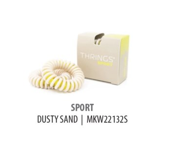 THRINGS - HAIR RINGS - SPORT - DUSTY SAND - 2PC