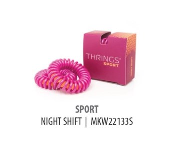 THRINGS - HAIR RINGS - SPORT - NIGHT SHIFT - 2PC