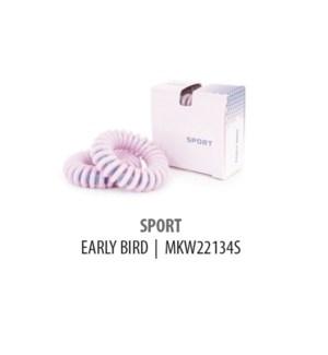 DISC//THRINGS - HAIR RINGS - SPORT - EARLY BIRD - 2PC