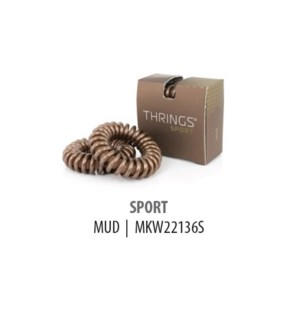 THRINGS - HAIR RINGS - SPORT - MUD - 2PC