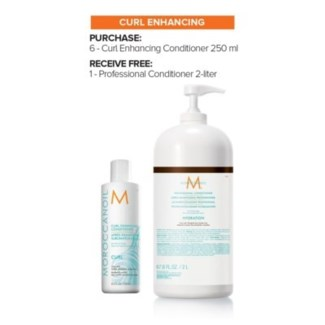 MO 6 (250ML) CURL ENHANCING CONDITIONER+ 2L CONDITION//MJ'19