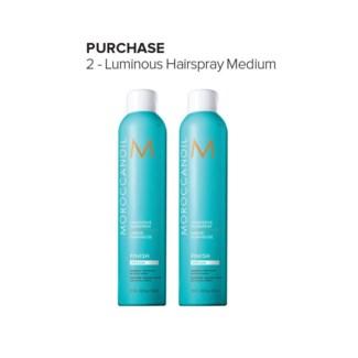 MO LUMINOUS HAIRSPRAY MEDIUM 1 + 1 (330ML)//MJ'19