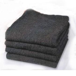 MARINA TOWEL BLACK, BLEACH RESISTANT / DOZEN