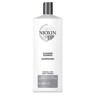 NIOXIN CLEANSER SHAMPOO-SYSTEM 1 - 1L
