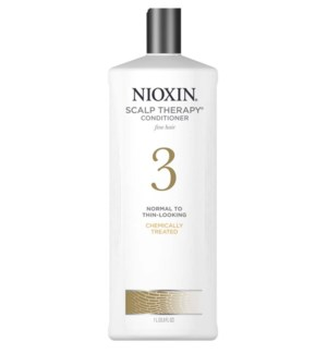 DISC//NIOXIN SCALP THERAPY CONDITIONER-SYSTEM 3 - 1L