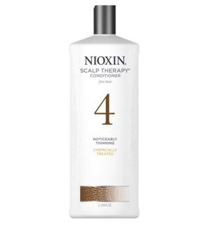 NIOXIN SCALP THERAPY CONDITIONER-SYSTEM 4 - 1L