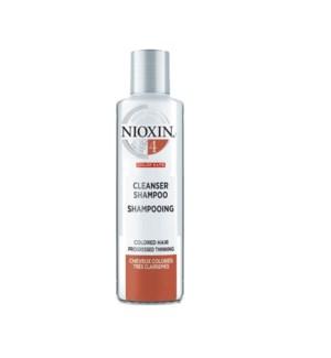 NIOXIN CLEANSER SHAMPOO 300ML - SYSTEM 4