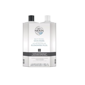 NIOXIN LITRE DUO 2 FINE-NOTICEABLY THINNING//JF'19
