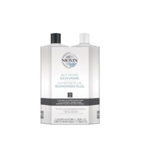 NIOXIN LITRE DUO 2 FINE-NOTICEABLY THINNING  JA'19