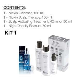 NIOXIN SYSTEM 1 COMPLETE DAY AND NIGHT REGIMEN
