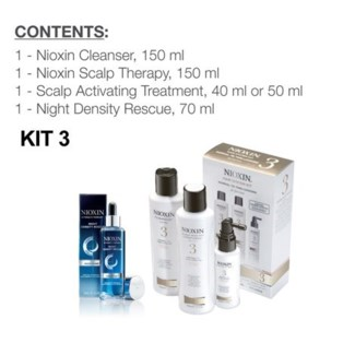 NIOXIN SYSTEM 3 COMPLETE DAY AND NIGHT REGIMEN