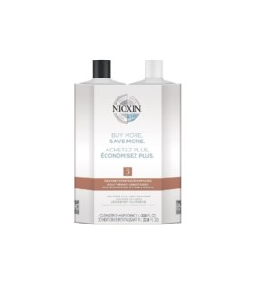 NIOXIN LITRE DUO 3 FINE-NORMAL TO THIN-CHEM TREATED  JA'19