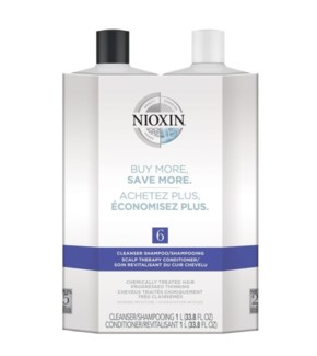 NIOXIN LITRE DUO 6 MED/COURSE-NOTICEABLY THIN-CHEM TR//JF'19