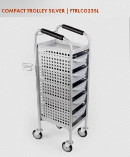NP PREMIUM LINE COMPACT TROLLEY SILVER
