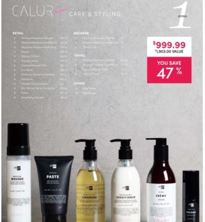 OLIGO CALURA CARE & STYLING ENSEMBLE 1    2021