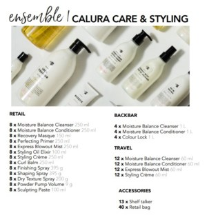 OLIGO CALURA CARE & STYLING ENSEMBLE 1 (2020)