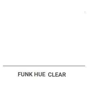 OLI FUNK HUE CLEAR 100ML