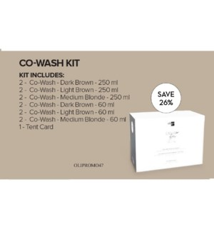 OLIGO CALURA GLOSS MEN CO-WASH Kit JF2021