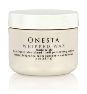 DISC//ONESTA WHIPPED WAX 2OZ