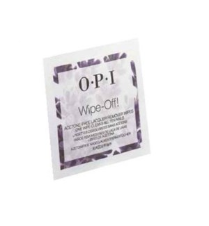 OP WIPE-OFF! ACETONE-FREE LACQUER REMOVER WIPES