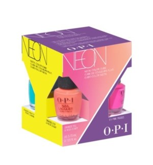 OP NL NEONS BY OPI SUMMER MINI 4-PACK COLOR CUBE/'19
