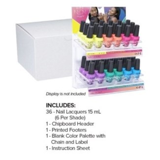 OP NL NEONS BY OPI SUMMER 36PC ACRYLIC DISPLAY/'19