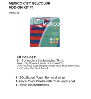 OP GC MEXICO CITY ADD-ON KIT #1