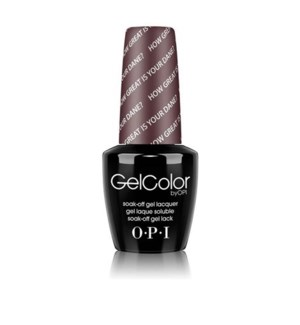 OPI GEL COLOR HOW GREAT IS YOUR DANE?