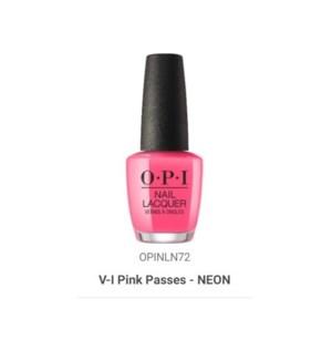 OPI NL COLOR V-I-PINK PASSES