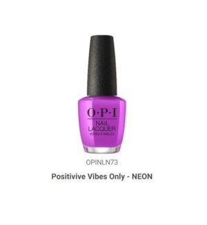 OPI NL POSITIVE VIBES ONLY