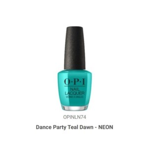 OPI NL DANCE PARTY 'TEAL DAWN