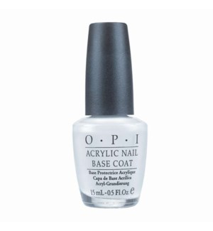 OPI ACRYLIC NAIL BASE COAT 1/2 OZ