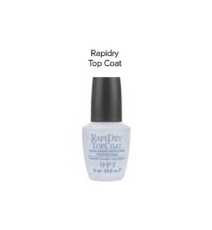 OPI RAPIDRY TOP COAT 1/2 OZ
