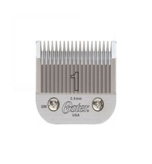 "OSTER AGION STAINLESS STEEL BLADE SIZE 1 (3/32"")"