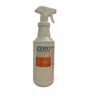 ZERO TOLERANCE HARD SURFACE DISINFECTANT 32OZ (ORANGE LABEL)