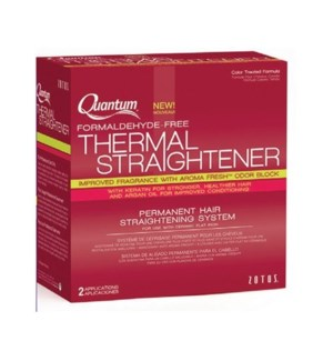 QU THERMAL STRAIGHTENER / COLOR TREATED