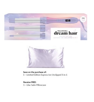PM DREAM HAIR UNCLIPPED 3-IN-1  MJ21