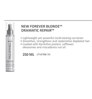PM FOREVER BLONDE DRAMATIC REPAIR 150ML