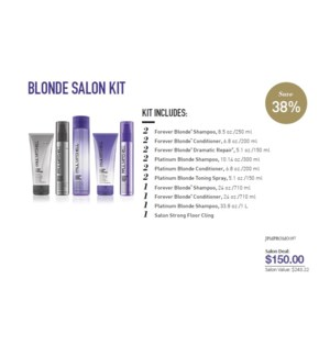 PM FOREVER BLONDE SALON STARTER KIT (FBSLN1F19)//2019