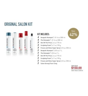 PM ORIGINAL SALON STARTER KIT (OSKC16)//2019