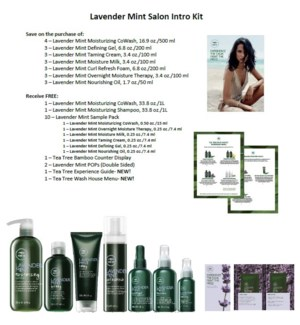 PM TT LAVENDER MINT SALON INTRO KIT//MJ'19