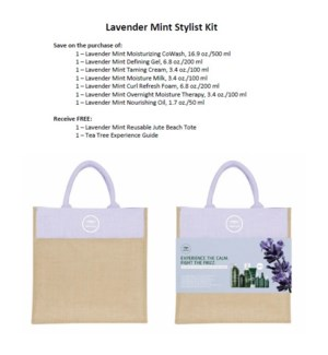 PM TT LAVENDER MINT STYLIST KIT//MJ'19
