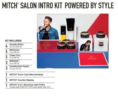 PM MITCH SALON INTRO KIT (MHSLN18)//2018