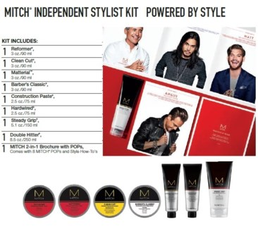 PM MITCH INDEPENDENT STYLIST KIT(MHSK18)//2018