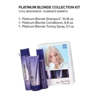 PM PLATINUM BLONDE COLLECTION KIT//MJ'19
